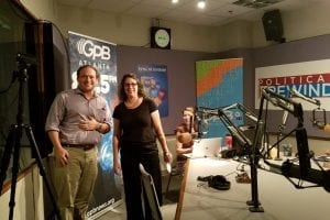 "GHPC's Jimmy Dills and Michelle Rushing Featured on Georgia Public Broadcasting's ""On Second Thought"""